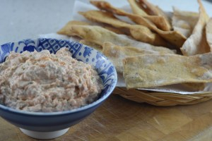 Smoked Salmon Pâté and Thyme Crackers
