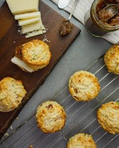 Pancetta, Parmesan & Spring Onion Scones