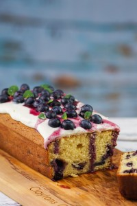 White Chocolate and Blueberry Loaf
