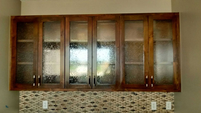 Cabinet Glass Including Doors  Shelves  Claytons Glass