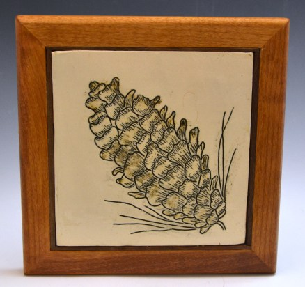Pine Cone Mishima Tile