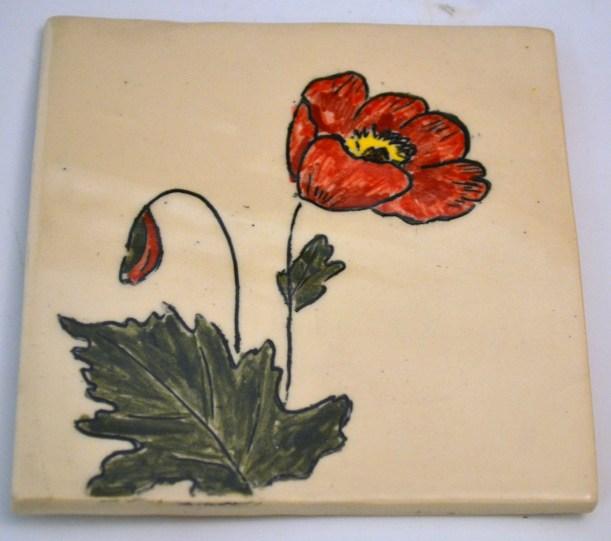 Poppy Mishima Tile