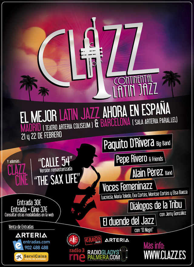 clazz barcelona madrid 2011 cartel