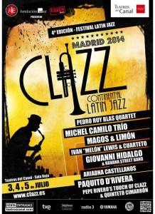 cartel clazz madrid 2014