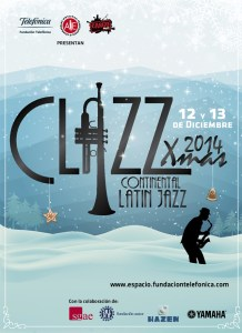 cartel clazz xmas madrid 2014
