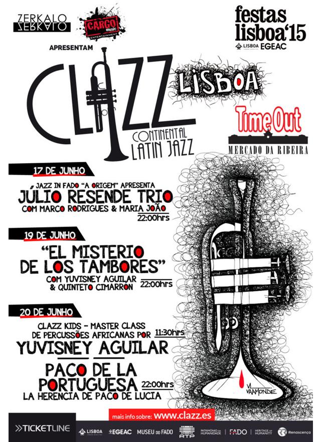 cartel clazz lisboa 2015