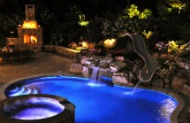 Outdoor Fireplaces - Clc Landscape Design