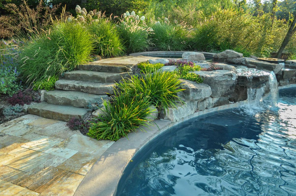 Waterfall Landscape Design Ideas