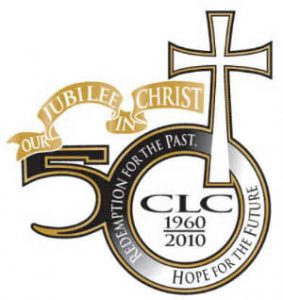 Church of the Lutheran Confession 50th anniversary logo