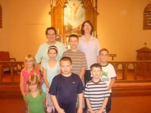 Grace Lutheran School Children at the 2011 Start of School Year