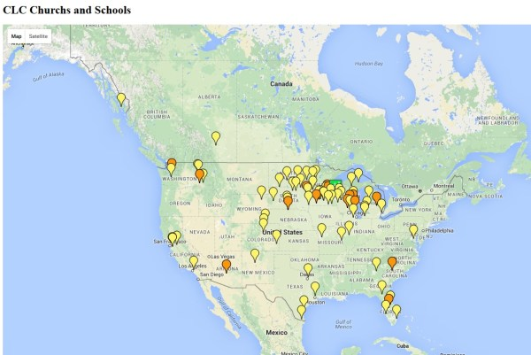 Map of CLC-Churches-and-Schools