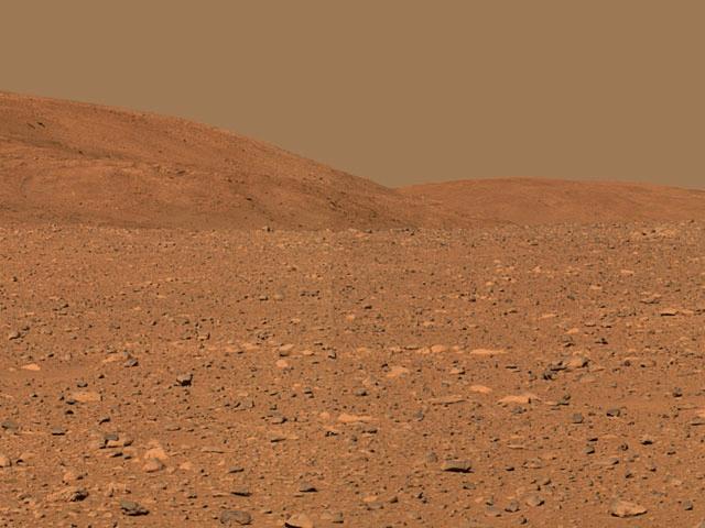 Mars by Curiosity