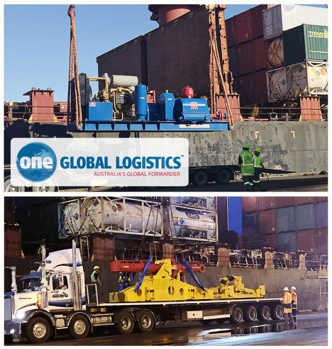 One Global handled oversized cargo returning home to Brisbane - CLC