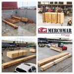 Mercomar handled a shipment of pipes and accessories from Houston to Zarate, Argentina