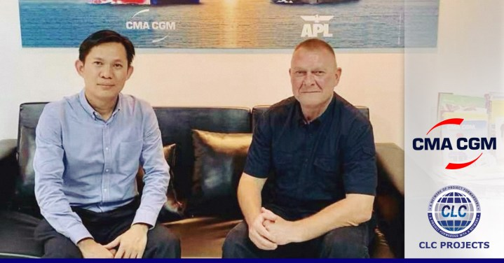 CLC Projects met with CMA CGM Cambodia.