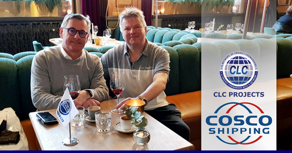 CLC Projects Network Chairman met with COSCO in Gothenburg, Sweden