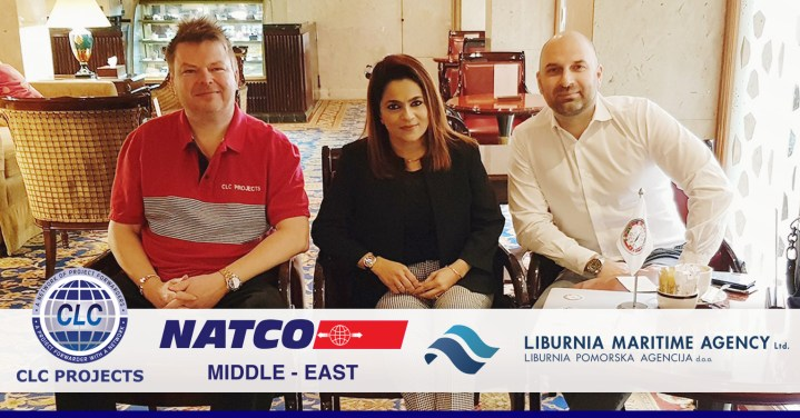 CLC Projects Chairman met with Liburnia Maritime Agency and NATCO in Dubai