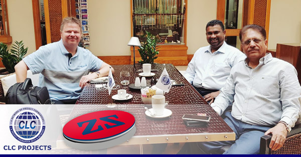 Zuhal and CLC Projects met in Dubai ahead of Breakbulk Middle East