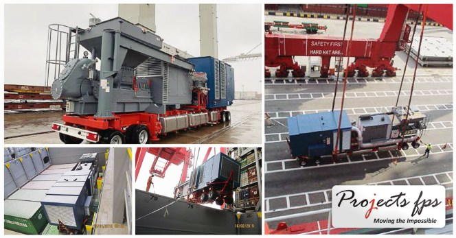 Projects FPS Handled Mobile Pneumatic Conveying System Machinery from Germany to Sri Lanka
