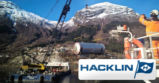 Hacklin Logistics Shipped a Reactor from Finland to Norway