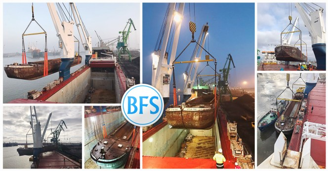 BFS Lithuania Shipped Several Barges