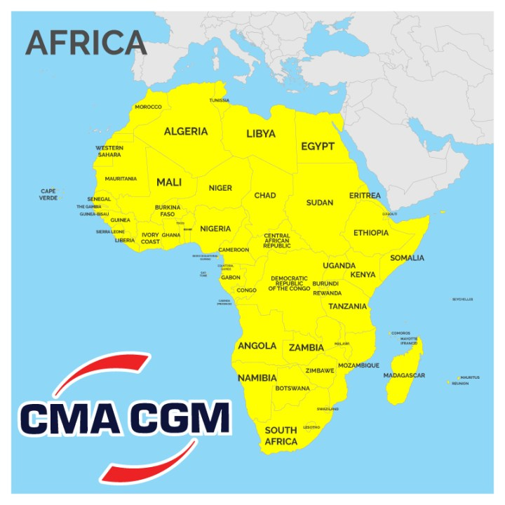 Breakbulk Inquiries with CMA CGM for Africa