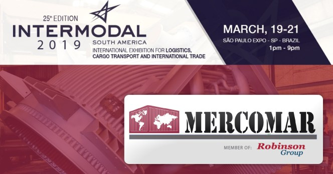 Mercomar (Robinson Group) will be attending Intermodal South America