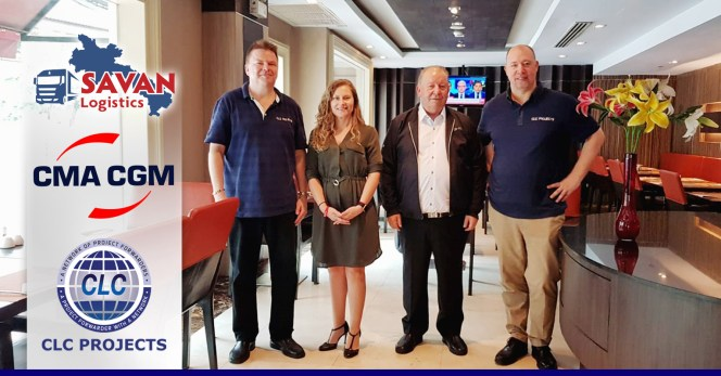 CLC           Projects met with CMA CGM Thailand and Savan Logistics Laos in           Bangkok