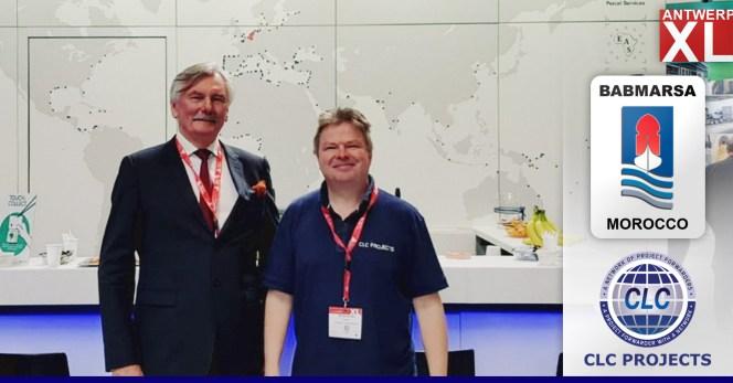 CLC Chairman met with Bennet Kjeldsen of Babmarsa Morocco at AntwerpXL