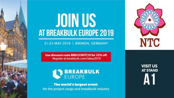 NTC at Breakbulk EU