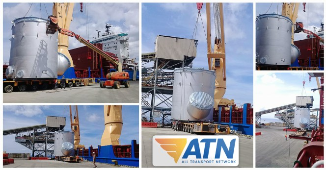 ATN Handled a Breakbulk Project ex Taiwan for the Philippines
