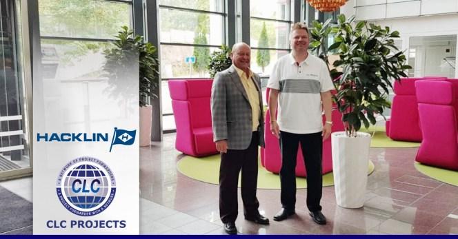 CLC Projects meets Oy Hacklin Logistics Ltd. in Finland