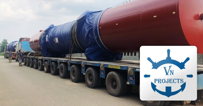 VN Projects Handled a Project Transport Including Loading, Trucking and Chartering to Semarang via HCMC