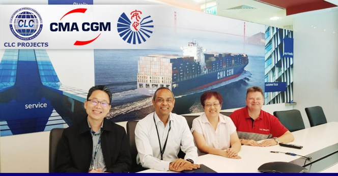 CLC Projects met with CMA CGM and Anshin Logistics in Singapore