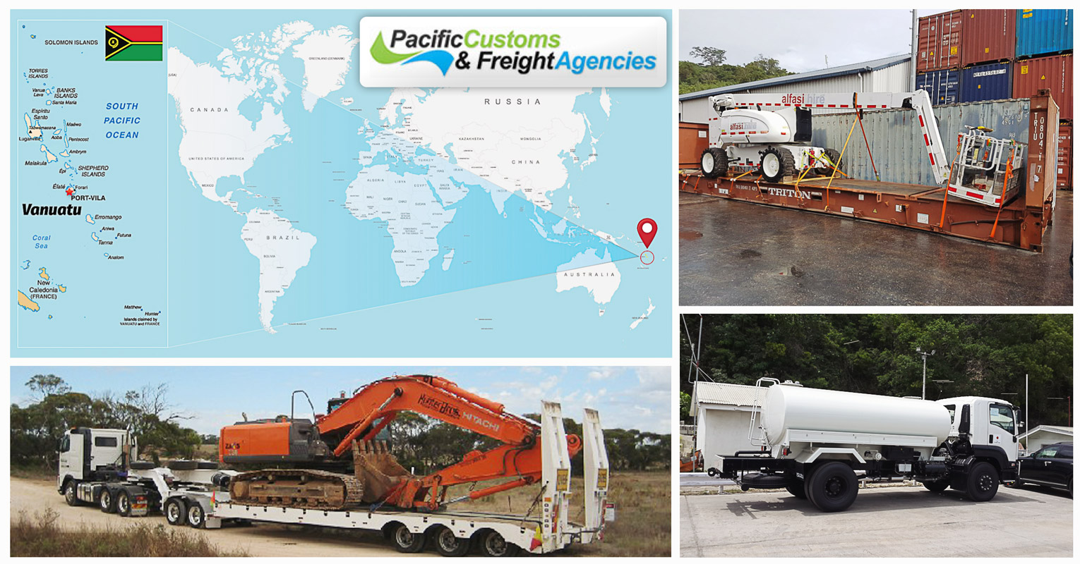 New member representing Vanuatu – Pacific Customs & Freight Agencies