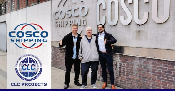 CLC Projects met with COSCO Shipping in Hamburg, Germany.