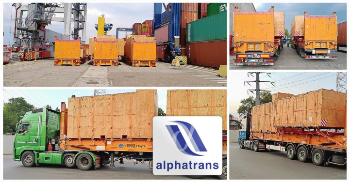 Alphatrans Shipped a Blowout Preventer Equipment