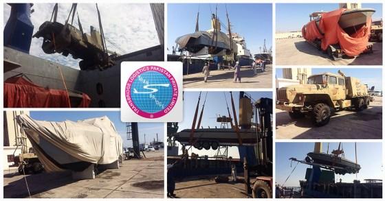 Discharge of Sudan transhipment cargo at Karachi by Transbridge