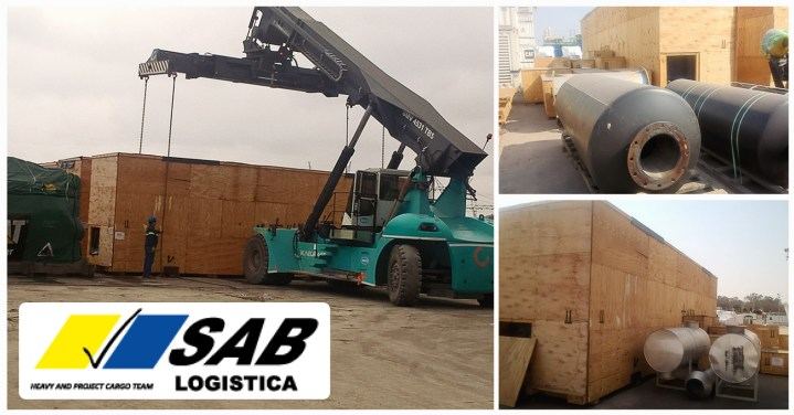 Sab Logistica Delivered 4 Gas Turbines from Argentina to USA