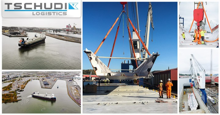 Tschudi Logistics Handled the Full Operation of Hising Bridge Project