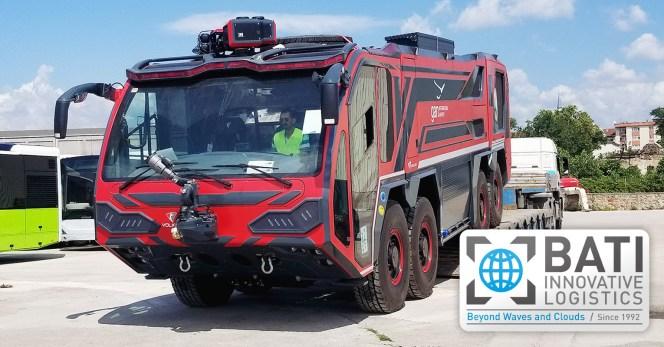 Bati Group Shipped Fire Fighting Vehicles to Maldives