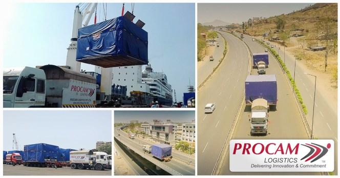 Procam Logistics Moved 12 Units of Stators & Rotors of Weight 70.6T