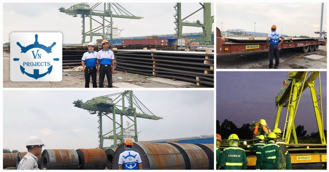 VN Projects Handled a 2nd DAP Shipment for Long Son Petrochemical Project