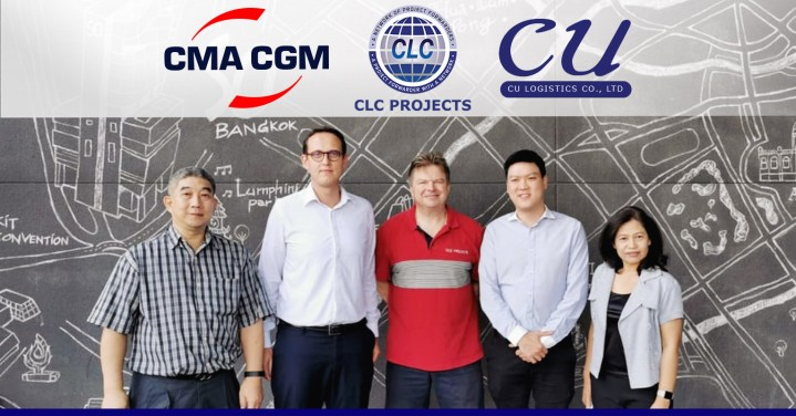 CLC Projects met with CMA CGM Thailand and CU Logistics in Bangkok