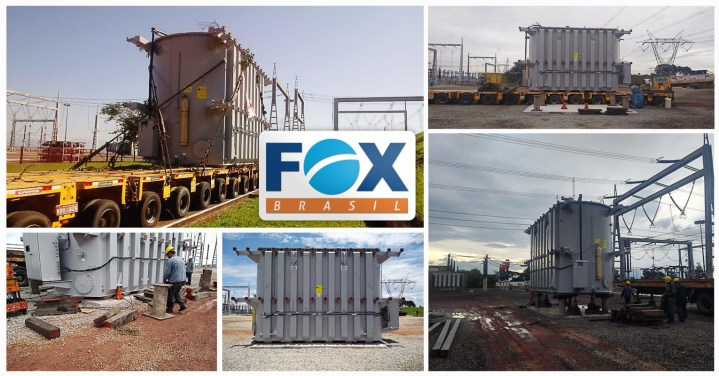 FOX Brasil Handled a 134 ton Transformer