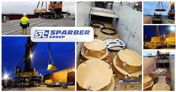 Sparber Handled a Total 220,90 tons