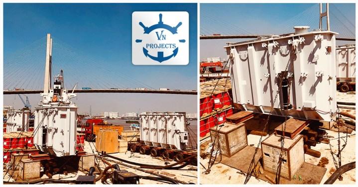 Vietnam Projects Transport Barging 3 Sets of Transformer
