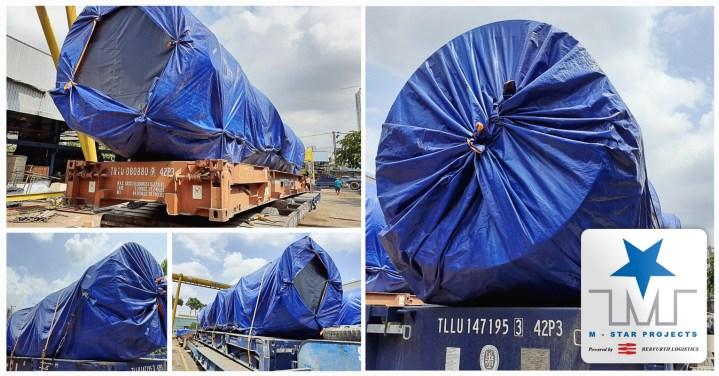 M-Star Projects Loaded Heavy Pieces Destined for Thailand