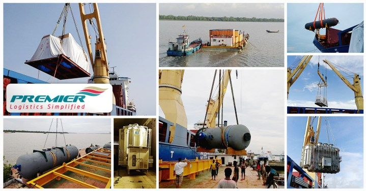 Premier Global Moved Heavy Equipment of Various Dimensions and Weights from Masan, Ulsan in South Korea and Yokohama in Japan