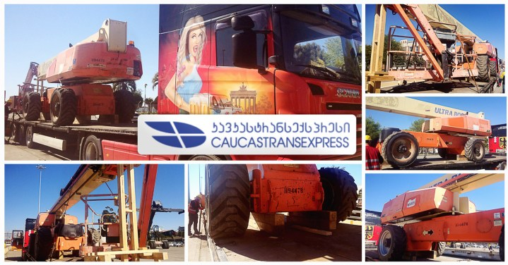 Caucastransexpress Handled Another Project from Poti, Georgia to Baku, Azerbaijan